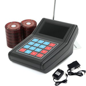 DC 12V Speed Wireless Restaurant Coaster Pagers Gast Calling Paging Queuing System