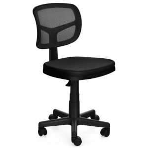 Low-Back Height Adjustment Office Chair