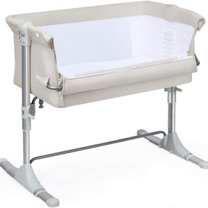 Side Sleeping Cot / Travel Cot with Mattress