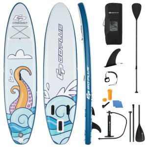 10.5FT Inflatable Stand Up Paddle Board with Non-Slip Deck