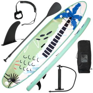11FT Inflatable Stand Up Paddle Board SUP with Pump