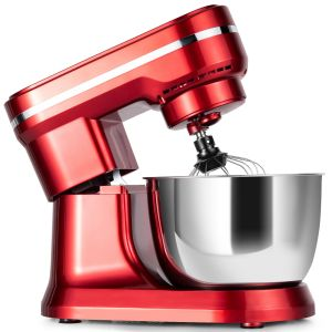 Electric Stand Food Mixer with 4.5L Stainless Steel Bowl