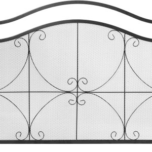 Decorative Spark Flame Barrier with Metal Mesh
