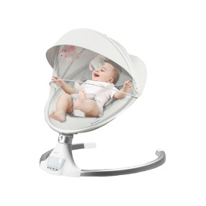 Electric Baby Rocker Bouncer Chair Cradle Mosquito Net Remote Control