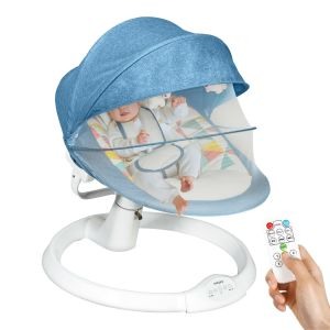 Electric Baby Rocker Bouncer Chair with Mosquito Net