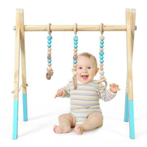 Foldable Wooden Baby Gym