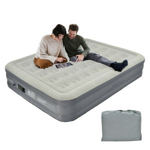 Large Air Mattress High Elevated Raised Airbed