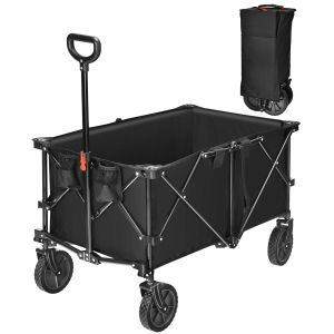 212L Collapsible Folding Wagon Cart