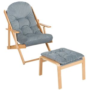 Recliner Chair with Foot Stool
