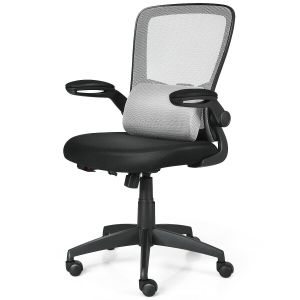 Ergonomic Height Adjustable Office Chair with Massage Pillow