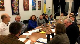 Diskussion über Zusammenarbeit (Hamburg)