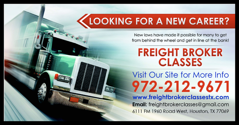 Freight Broker Classes  Houston  Home