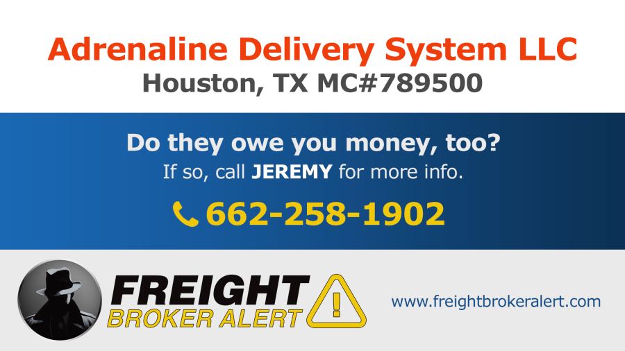 Adrenaline Delivery System LLC Texas