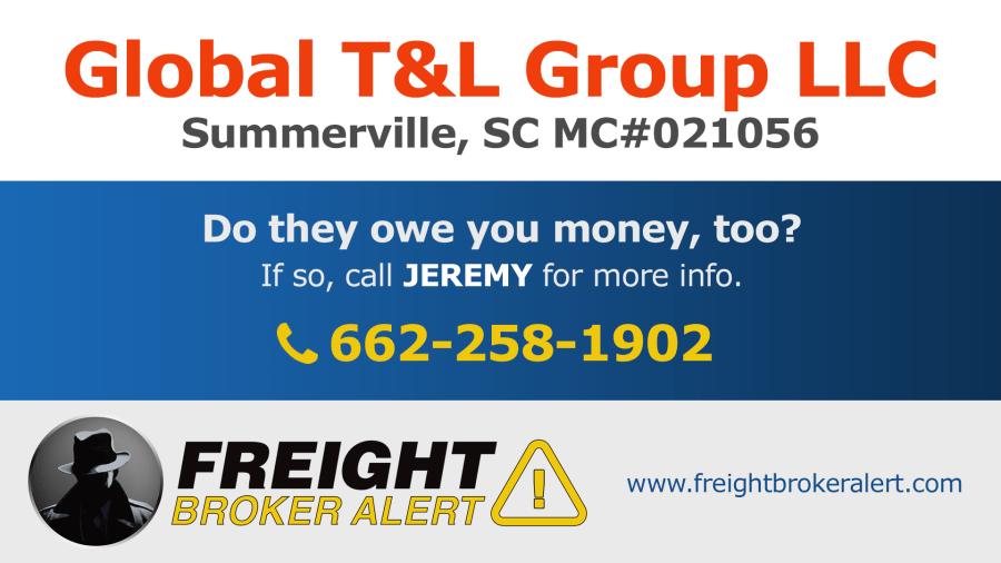 Global T&L Group LLC South Carolina