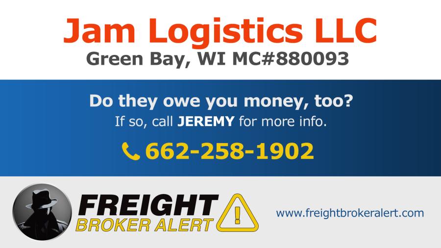 Jam Logistics LLC Wisconsin