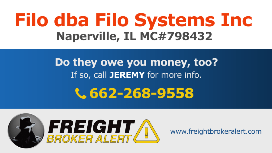 Filo Systems Inc Illinois