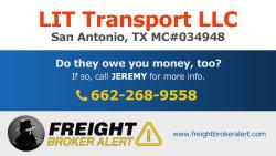 LIT Transport LLC Texas