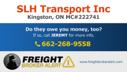 SLH Transport Inc Ontario