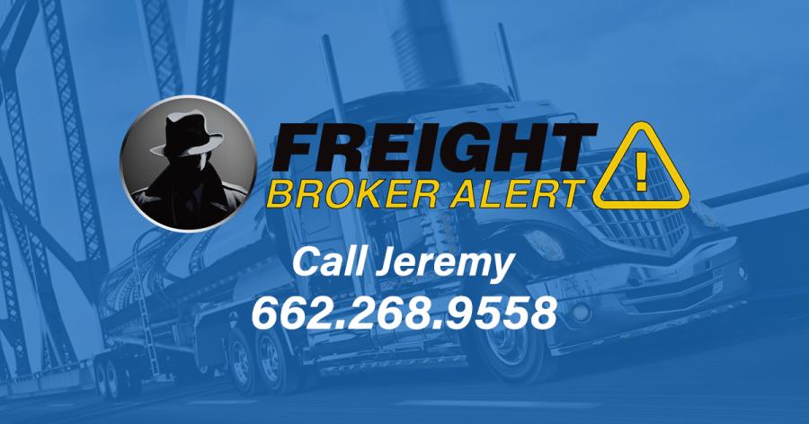 Freight Broker Alert