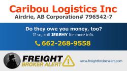 Caribou Logistics Inc Alberta