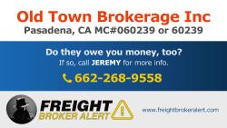 Old Town Brokerage Inc California