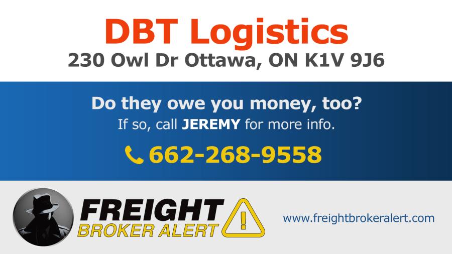 DBT Logistics Ontario