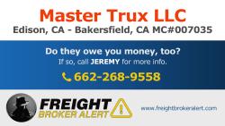 Master Trux LLC California