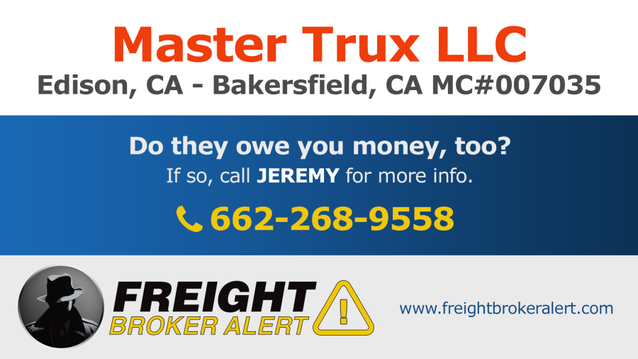 Master Trux LLC California