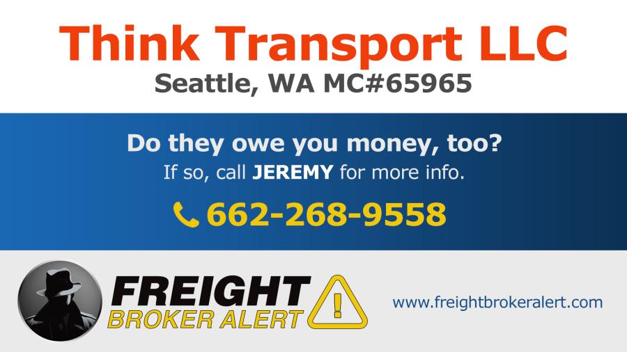 Think Transport LLC Washington