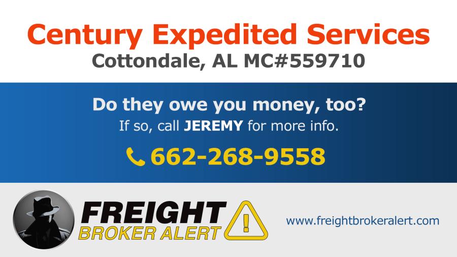 Century Expedited Services Inc Alabama