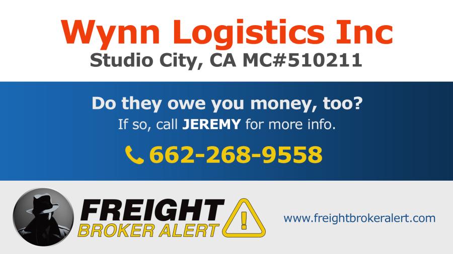 Wynn Logistics Inc California