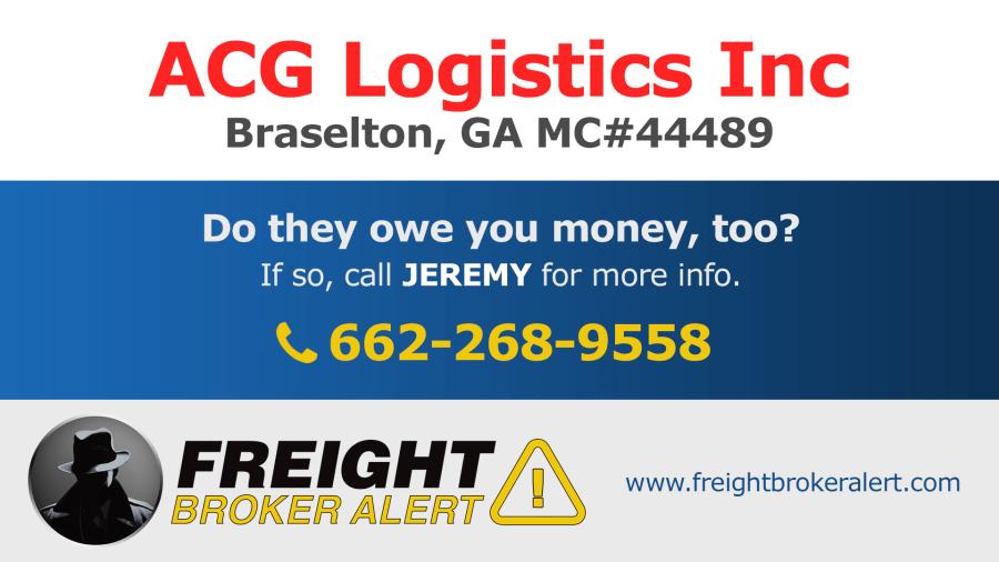 ACG Logistics Inc Georgia