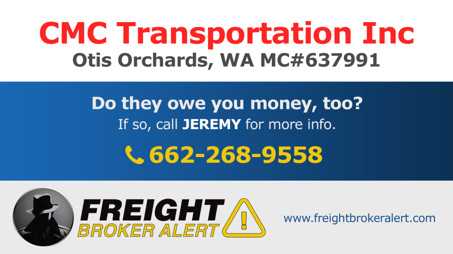 CMC Transportation Inc Washington