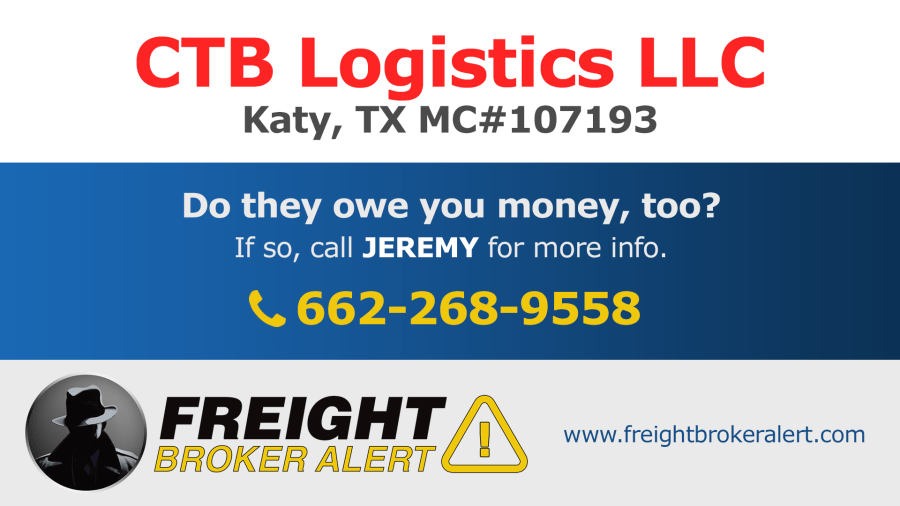 CTB Logistics LLC Texas