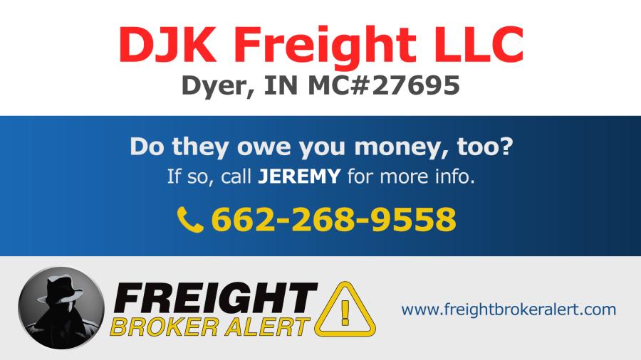 DJK Freight LLC Indiana