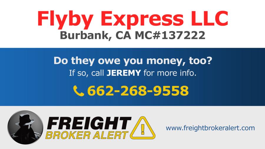 Flyby Express LLC California