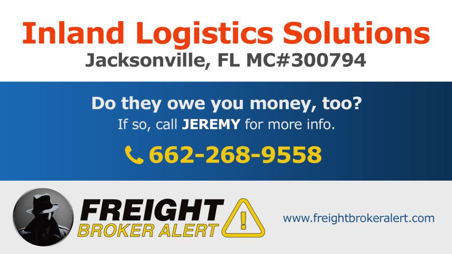 Inland Logistics Solutions Florida