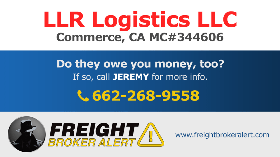 LLR Logistics LLC California