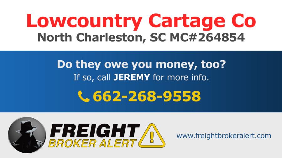 Lowcountry Cartage Co Inc South Carolina