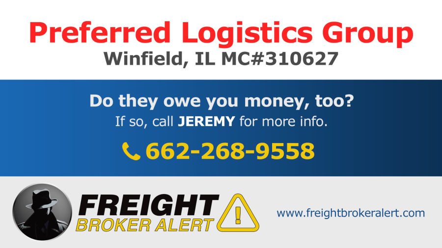 Preferred Logistics Group Inc Illinois