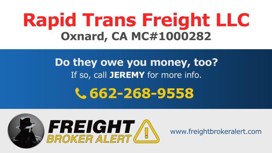 Rapid Trans Freight LLC California