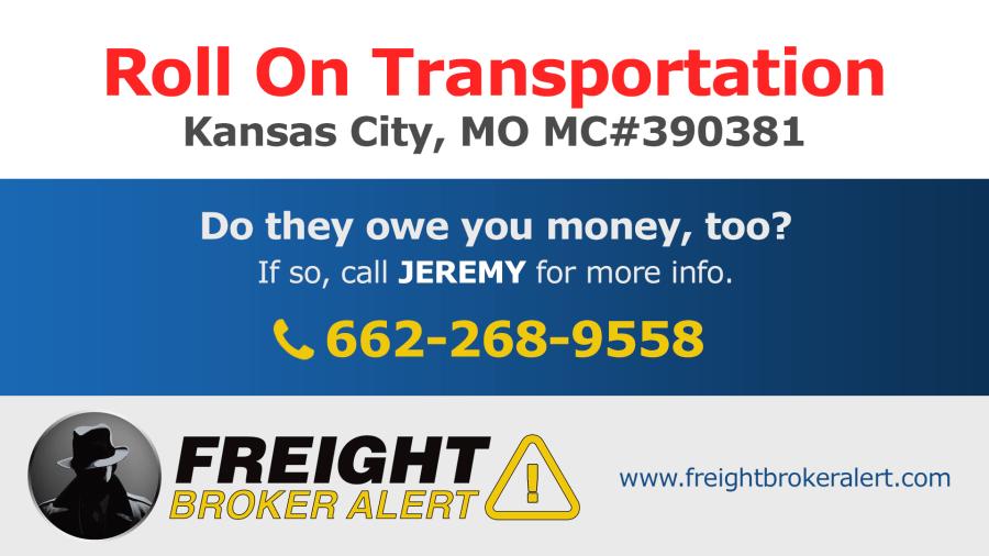 Roll On Transportation Inc Missouri