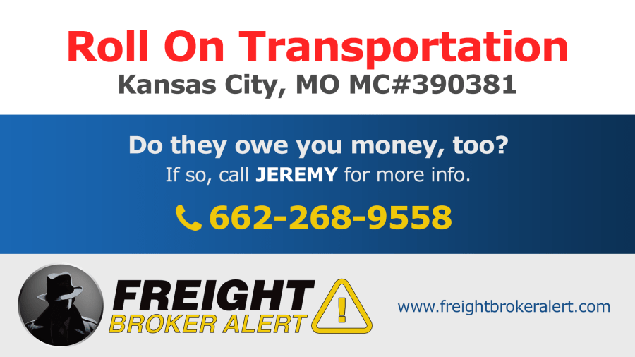 Roll On Transportation Inc Missouri