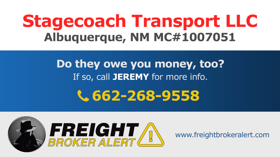 Stagecoach Transport LLC New Mexico