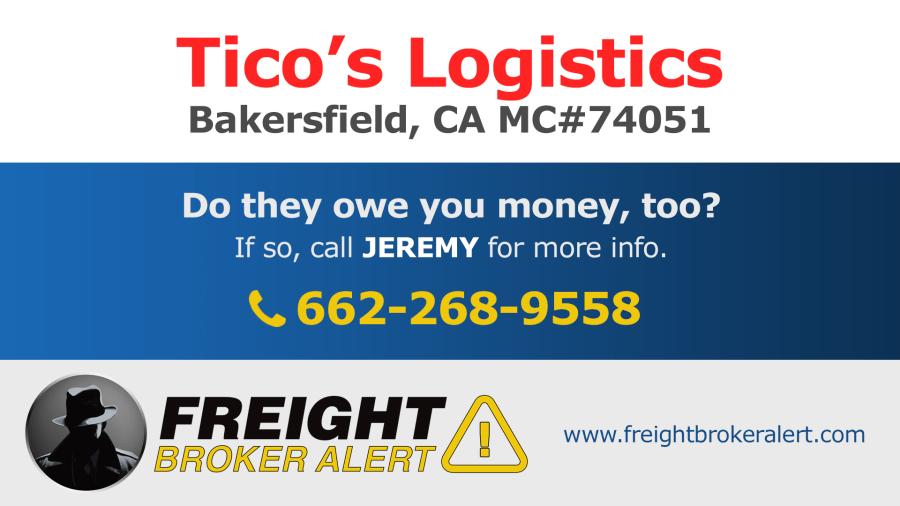 Ticos Logistics California