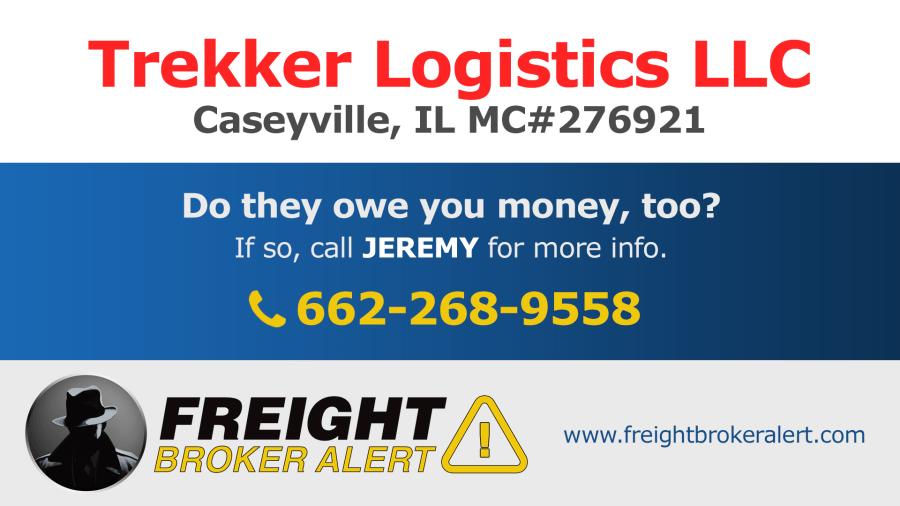 Trekker Logistics LLC Illinois