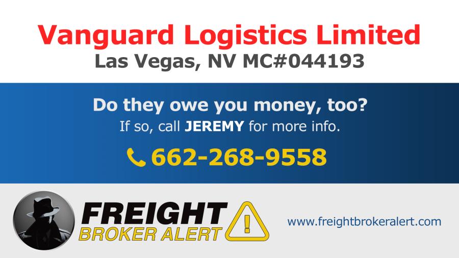 Vanguard Logistics Limited Nevada