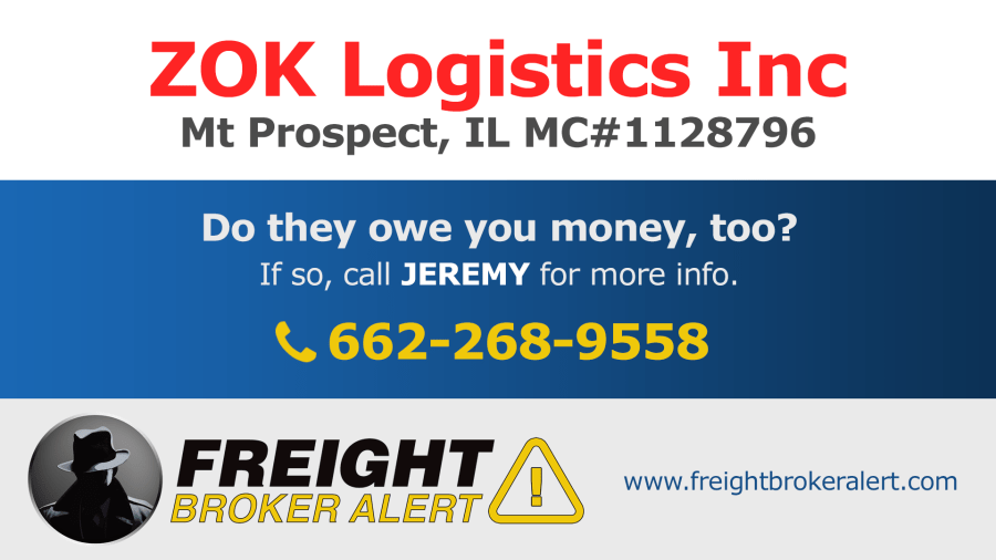 ZOK Logistics Inc Illinois