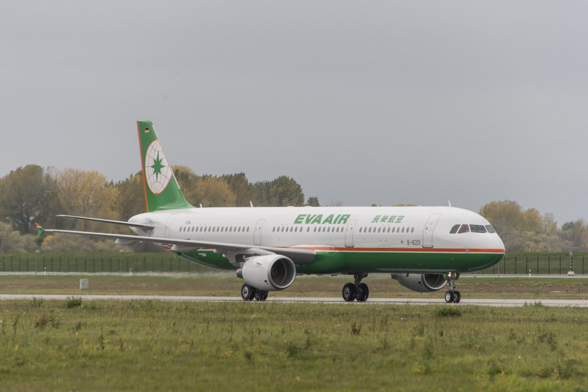 ニュース畫像:エバー航空 A321 | FlyTeam ニュース