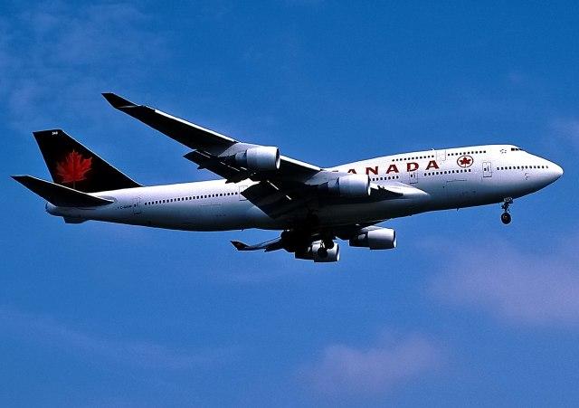 エア・カナダ Boeing 747-400 C-GAGN ロンドン・ヒースロー空港 航空フォト | by パール大山さん 撮影1999年07月11日